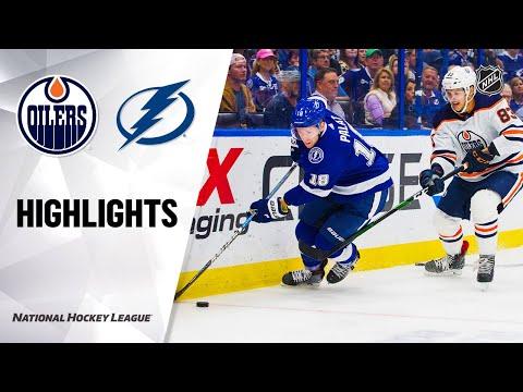 NHL Highlights   Oilers @ Lightning 2/13/20
