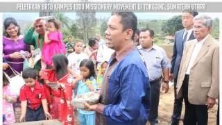 Peletakan Batu Kampus 1000 Missionary Movement