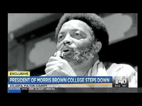 President of Morris Brown College steps down