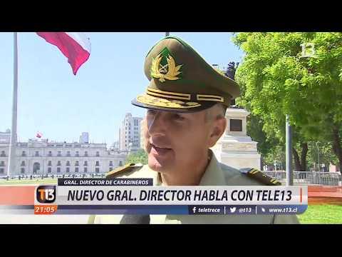 Habla nuevo General Director de Carabineros