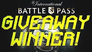 dota 2 ti7 battle pass giveaway winner q