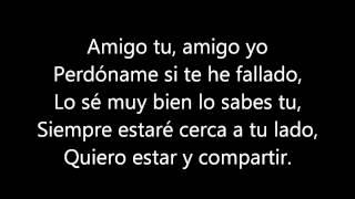 Amigo - Alex Campos (letra)
