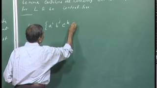 Mod-01 Lec-27 Completion of pumping lemma proof