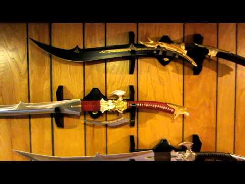 Some Of My Masks, Swords And Art.