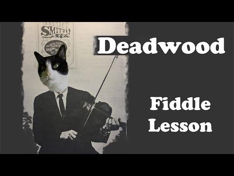 Deadwood Theme - Basic Fiddle Lesson
