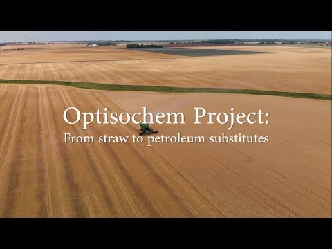 Optisochem Project: From Straw To Petroleum Substitutes