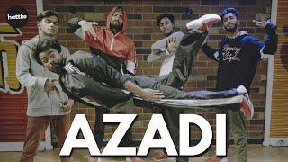 Azadi – Gully Boy | Hip Hop And Street Dance | Ranveer Singh, Alia Bhatt | DIVINE | Hattke