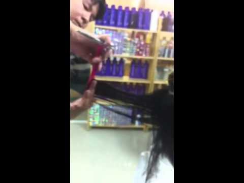 Hair Salon Ryo - Uốn xoăn Setting (P1 - Cắt tóc)