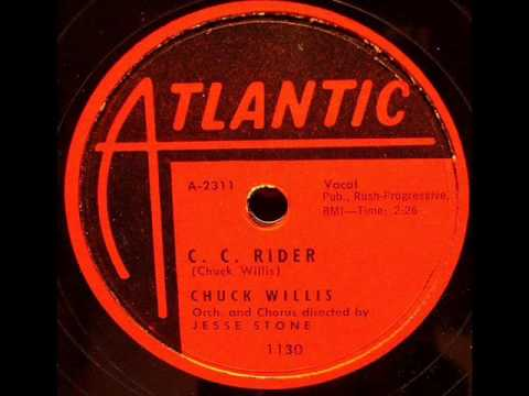 CHUCK WILLIS   C C Rider   Mar '57
