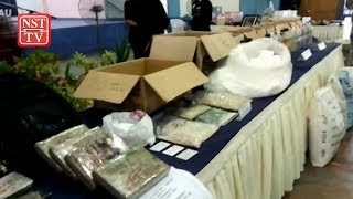 Police's lightning raids yield mammoth drugs haul