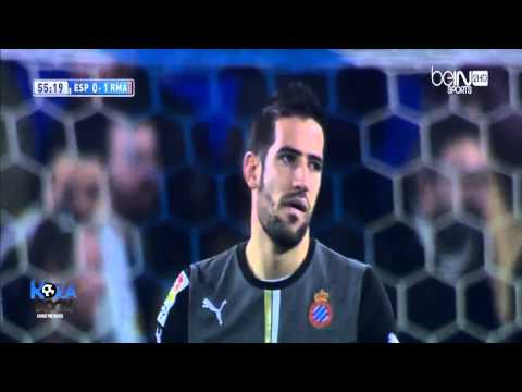 Espanyol vs Real Madrid 0 - 1 Full Time Pepe Goal 12-01-2014