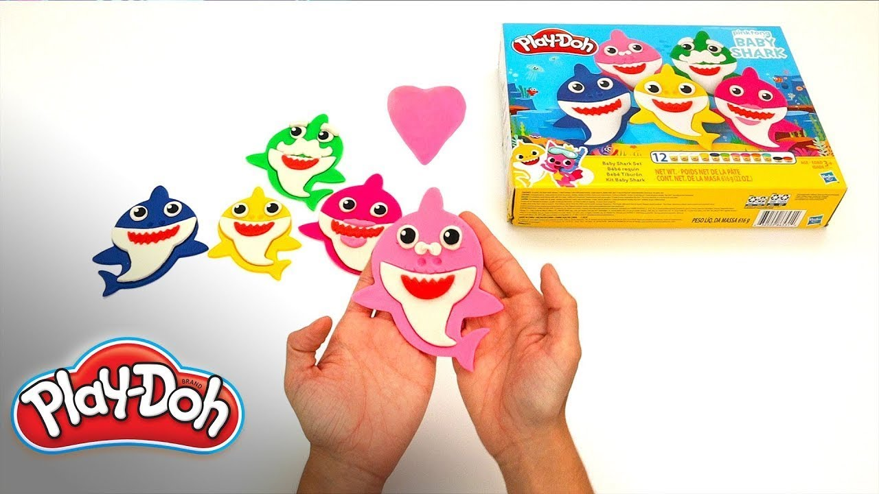 Pinkfong Baby Shark Unboxing 🦈Make Your Shark Family | Play-Doh: Creative Ideas for Kids