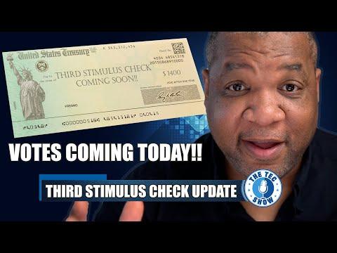 $1400 Third Stimulus Check Update + Stimulus Package Update