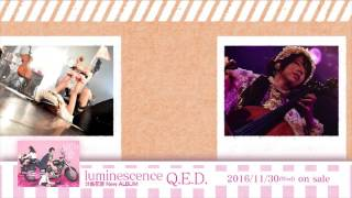 2016年11月30日発売 分島花音New Album「luminescence Q.E.D.」の収録楽...