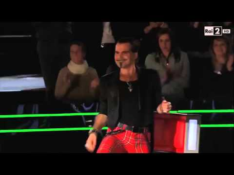 Rock and Roll Led Zeppelin - GIACOMO VOLI  @ The Voice of Italy