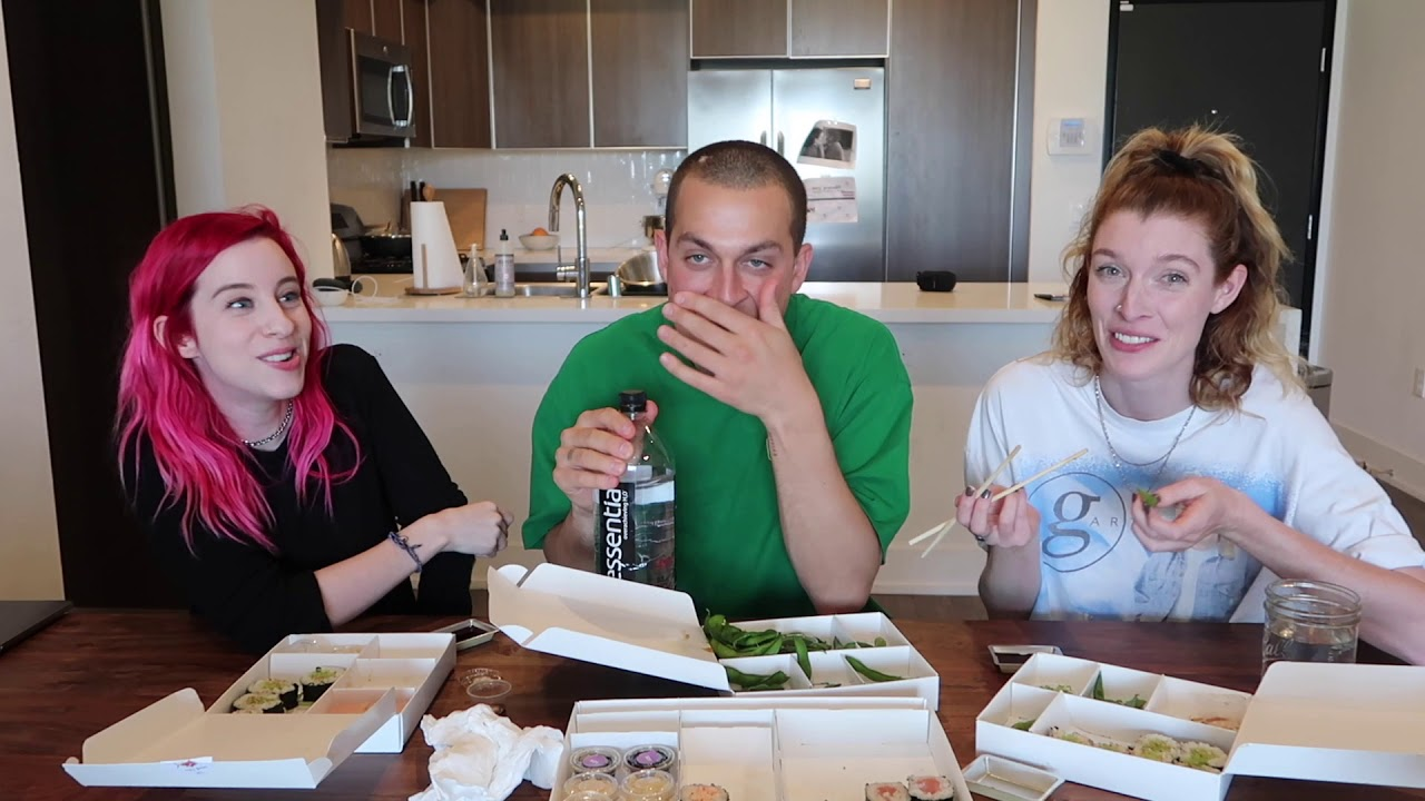 EATING $100 WORTH OF SUSHI w/ Chris Klemens (MUKBANG)