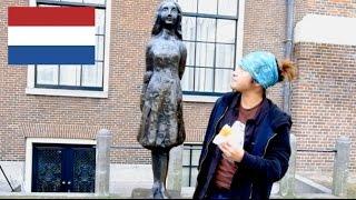 オランダのファストフード『Brootje Haring』を食べたジャパニ丸がちょ...