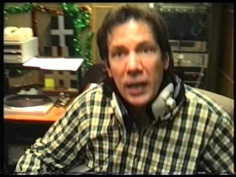 A walk round Capital Radio on New Year's Eve 1990