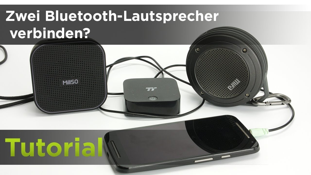 zwei bluetooth lautsprecher verbinden und stereo app drei m glichkeiten youtube. Black Bedroom Furniture Sets. Home Design Ideas