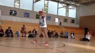 Funk the Beat---popping---1/4 final---Kaka vs Miro