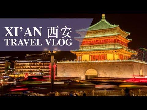 Xi'an 西安 Travel VLOG (Shaanxi Province, China)