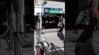 24h du Mans 2017, test moteur chez Porsche en gte pro