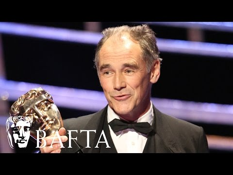 Mark Rylance wins Leading Actor BAFTA for Wolf Hall | BAFTA TV Awards 2016