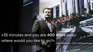 HT 2015 -  Dirk Ahlborn, Hyperloop  - The future of Transportation