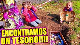 ENCONTRAMOS UN TESORO EN EL JARDÍN!!! OMG!!!   ·VLOG·
