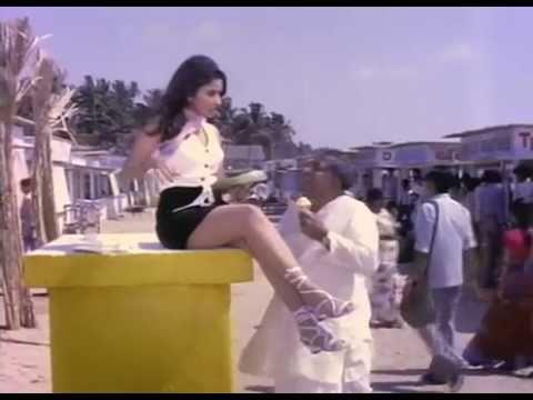Reena Roy  thigh show in short skirt thumbnail