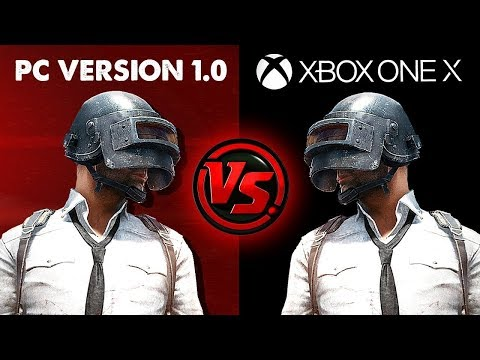 PUBG XBOX ONE X CONSOLE vs PC Versions | Battlegrounds Best Solo, Duo & Squad Live Stream Gameplay