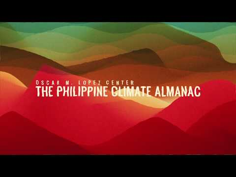 The Philippine Climate Almanac: Mean Temperature Anomaly And Number Of Tropical Cyclones (1951-2017)