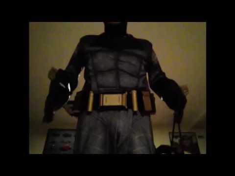 Batman v Superman  Dawn of Justice Grand Heritage Batman Costume Unboxing -  YouTube 8b3f75a92d0f7