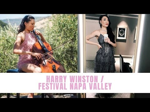 💎 DIAMONDS ARE A GIRL'S BEST FRIEND! ✨ Playing at Harry Winston / Festival Napa Valley Sneak Peek!