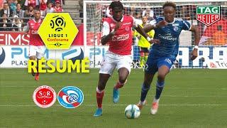 Stade de Reims - RC Strasbourg Alsace ( 0-0 ) - Résumé - (REIMS - RCSA) / 2019-20
