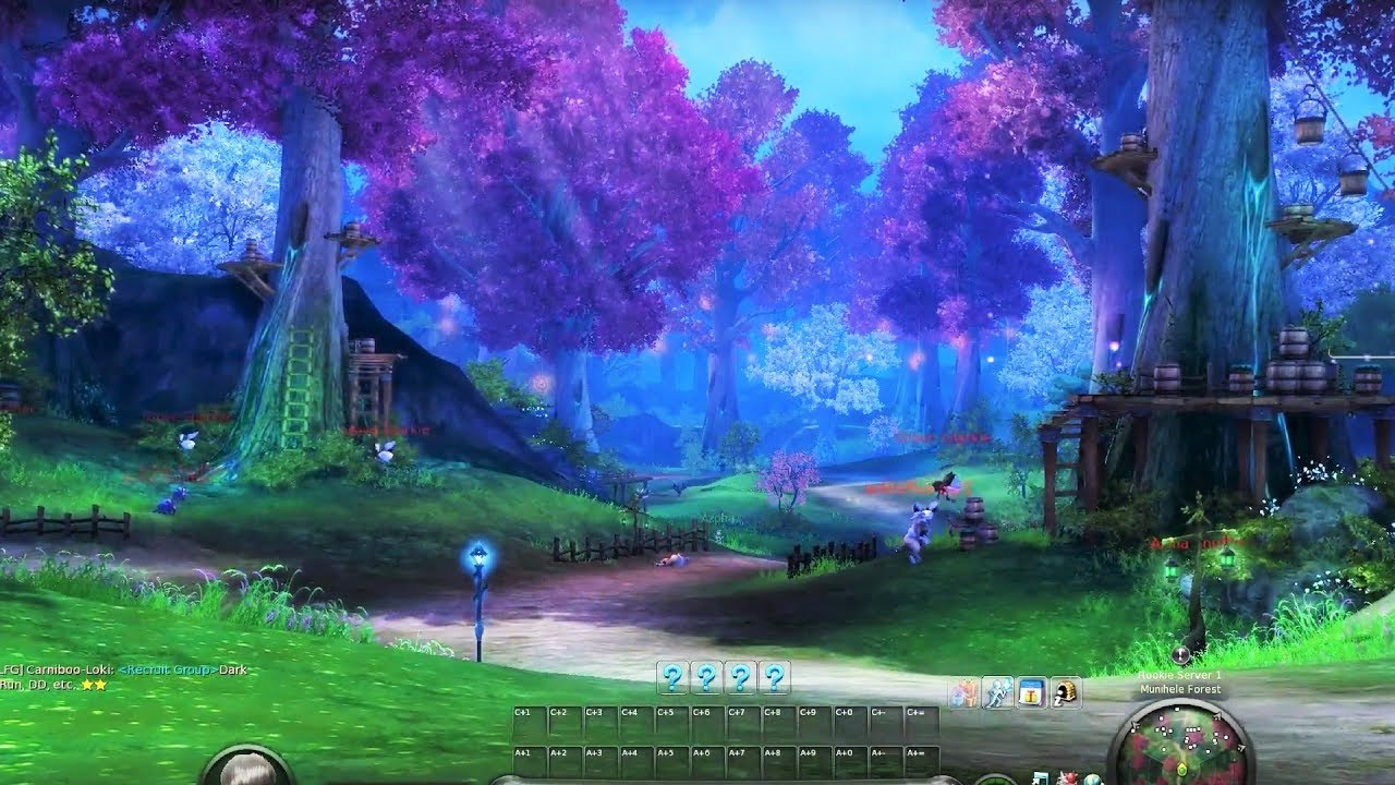 HOW BIG IS THE MAP in Aion? Walk Across the Map (Map: Ishalgen