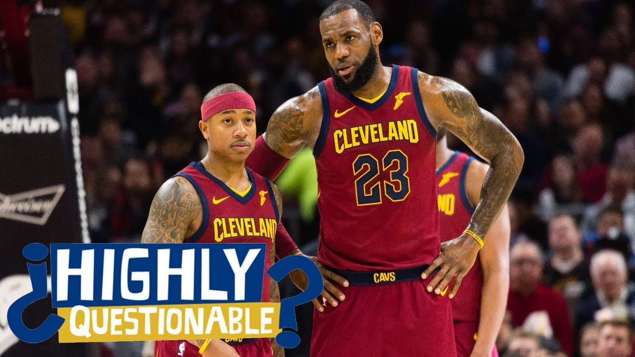 Was LeBron James holding Isaiah Thomas back on the Cavaliers? | Highly Questionable | ESPN