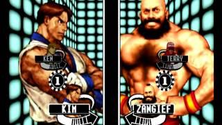 Capcom VS SNK Pro (Dreamcast) Arcade Mode as Kim/Ken