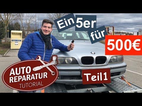 """Das BMW E39 Projekt - (Teil 1) - """"Vom 500 Euro Auto Zum Youngtimer"""""""