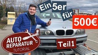 Das BMW E39 Projekt - (Teil 1) -