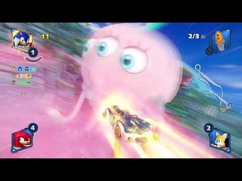 Team Sonic Racing PS4 - Kampagne - Grand Prix 2-3