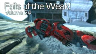 Fails of the Weak: Ep. 34 - Funny Halo 4 Bloopers and Screw Ups! | Rooster Teeth