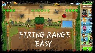 Bloons TD 6 - Firing Range - Easy