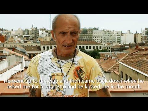 Hatkriminalitet mot hjemløse i Spania