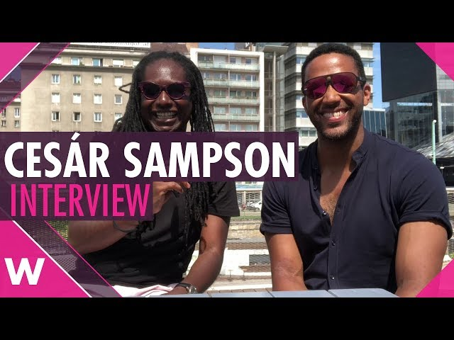 Eurovision 2018 jury winner Cesár Sampson (Austria) | Interview