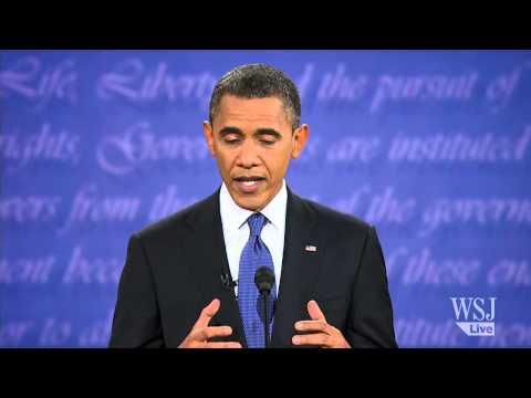 Full Presidential Debate: Battle Over Economic Policies