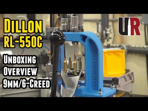 Dillon RL-550C: Unboxing, Overview, Setup, Loading Rifle And Pistol Ammunition