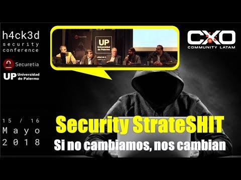 #h4ck3dc0n Security StrateSHIT @udepalermo @iciacorp @uliman73 @pentasecsol @mlc57 @jjvmAR