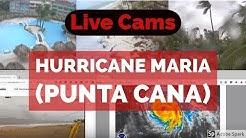 LIVE Dominican Republic Cams - Hurricane Maria (Punta Cana)