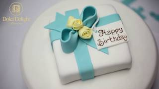 Dolci Delight, making of a birthday 3D cake